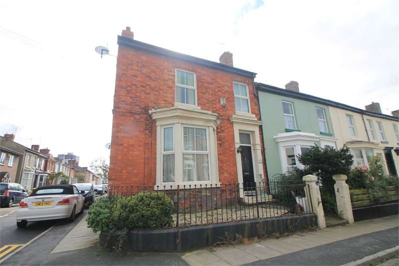 3 Bedrooms End Of Terrace House for sale in Canning Street, Waterloo, LIVERPOOL, Merseyside
