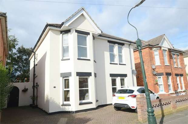 4 Bedrooms Detached House for sale in Gerald Road, Bournemouth, Dorset