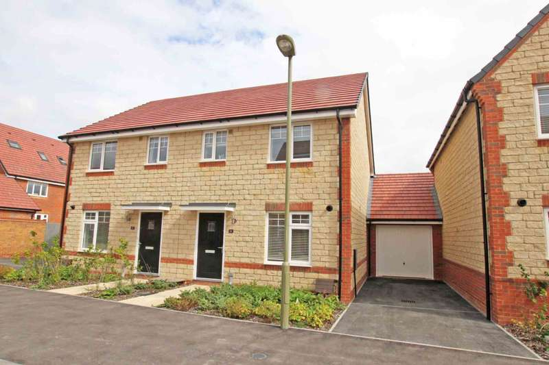 3 Bedrooms Semi Detached House for sale in Cornflower Close, Harwell