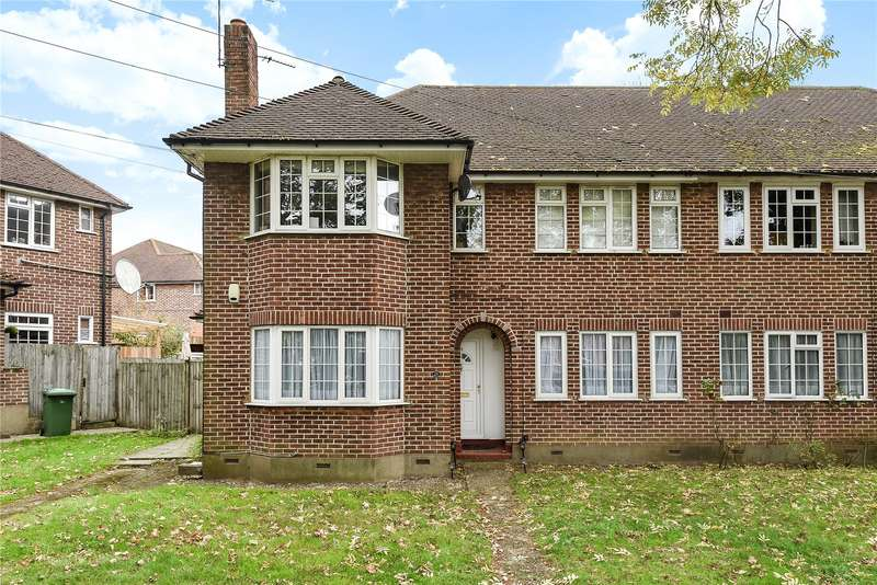 2 Bedrooms Maisonette Flat for sale in Springfield Close, Stanmore, Middlesex, HA7