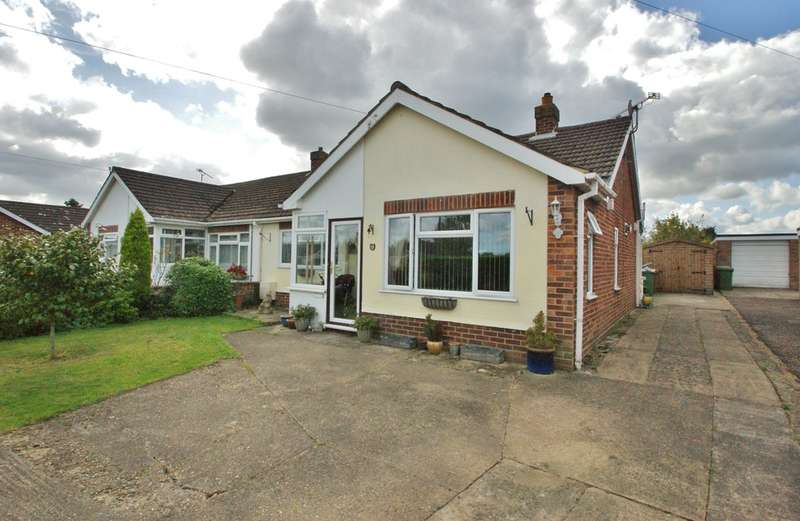 2 Bedrooms Semi Detached Bungalow for sale in Christine Road, Spixworth