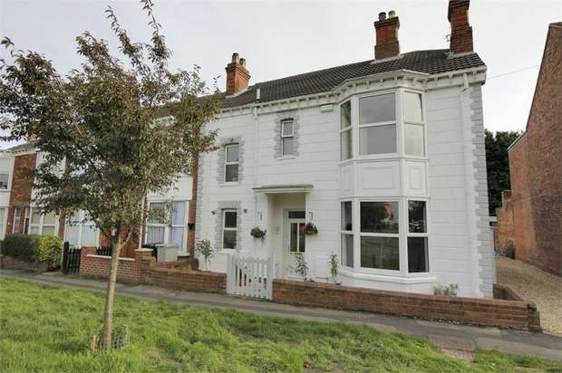 3 Bedrooms End Of Terrace House for sale in High Holme Road, Louth, Lincolnshire