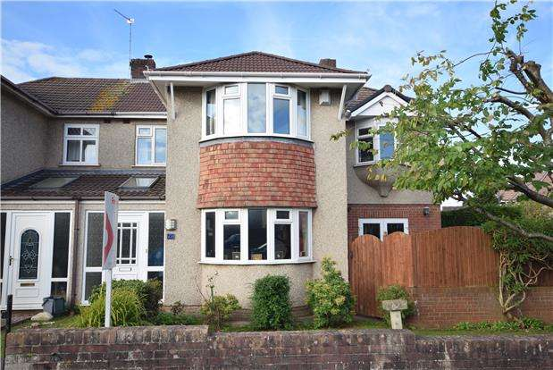 4 Bedrooms Semi Detached House for sale in Bromley Heath Avenue, Downend, BRISTOL, BS16 6JP
