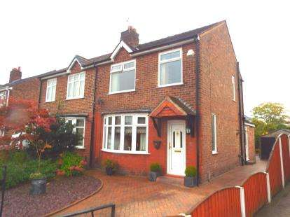 3 Bedrooms Semi Detached House for sale in Capesthorne Road, Orford, Warrington, Cheshire