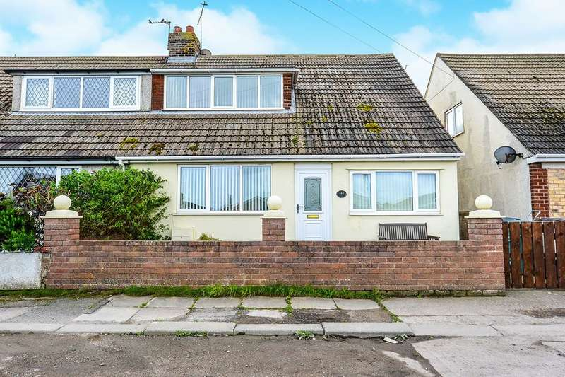4 Bedrooms Semi Detached House for sale in Foryd Road, Kinmel Bay, Rhyl, LL18