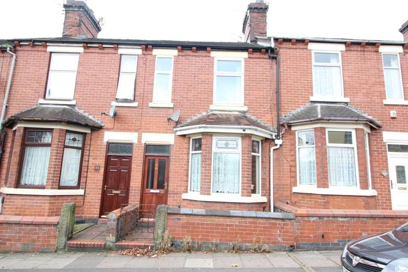 3 Bedrooms Property for sale in Greengates Street, Tunstall, Stoke-On-Trent, ST6