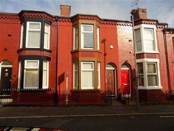 3 Bedrooms End Of Terrace House for rent in Cameron Street, Kensington, liverpool