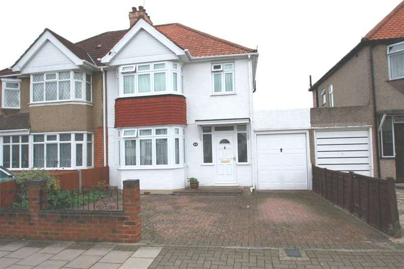 3 Bedrooms Semi Detached House for sale in Weald Lane, Harrow Weald