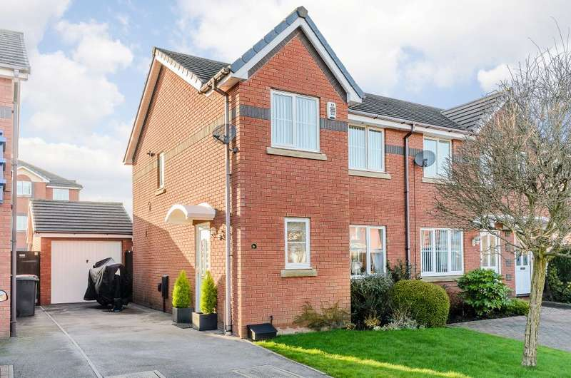 3 Bedrooms Semi Detached House for sale in Endeavour Close, Preston, Lancashire, PR2