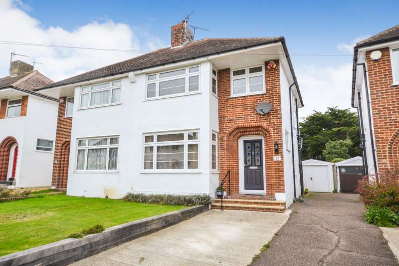 3 Bedrooms House for sale in Freeman Avenue, Eastbourne, BN22
