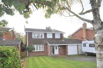 4 Bedrooms Detached House for sale in Westfields Rise, Woore, Crewe, CW3 9SY