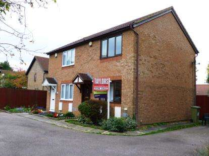 2 Bedrooms Semi Detached House for sale in Groombridge, Kents Hill, Milton Keynes