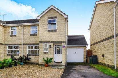 3 Bedrooms Semi Detached House for sale in Woodlands Road, Charfield, Wotton-Under-Edge, Gloucestershire