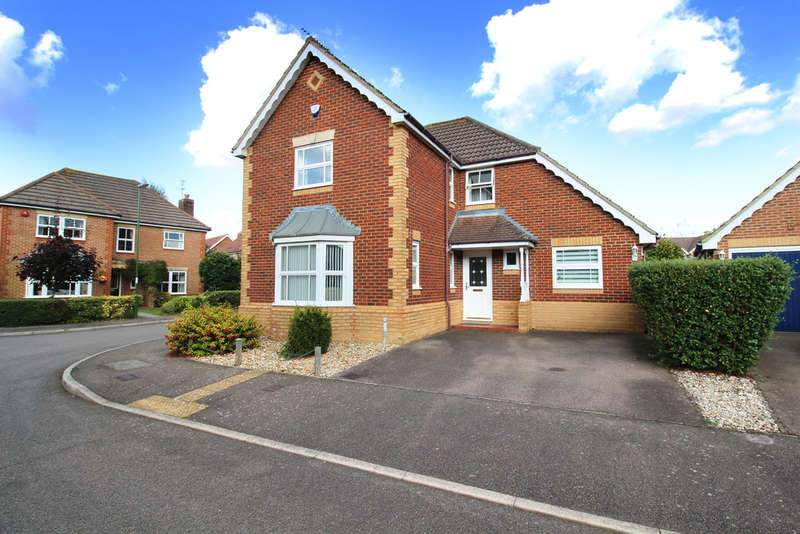 4 Bedrooms Detached House for sale in Delius Gardens, Horsham