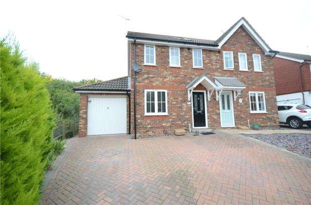 3 Bedrooms Semi Detached House for sale in Hebbecastle Down, Warfield
