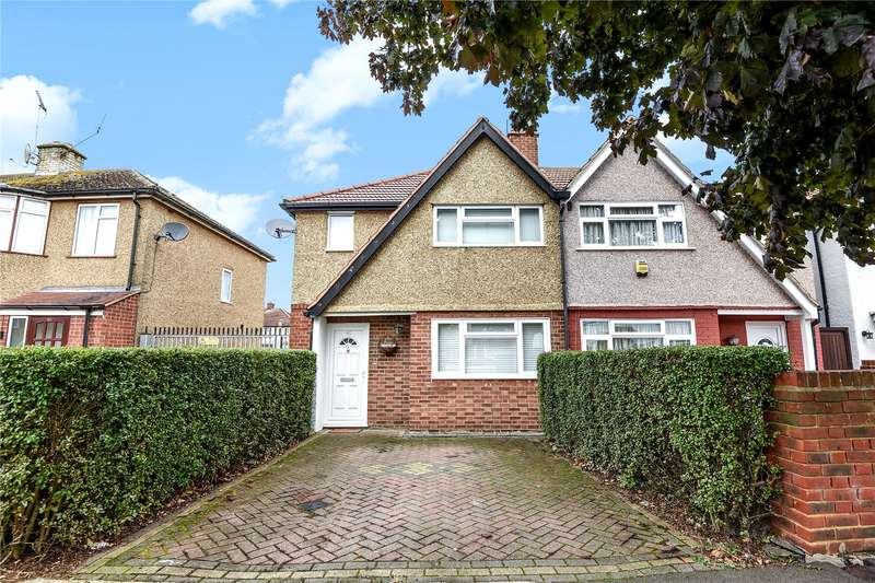 2 Bedrooms Semi Detached House for sale in Clyfford Road, Ruislip, Middlesex, HA4
