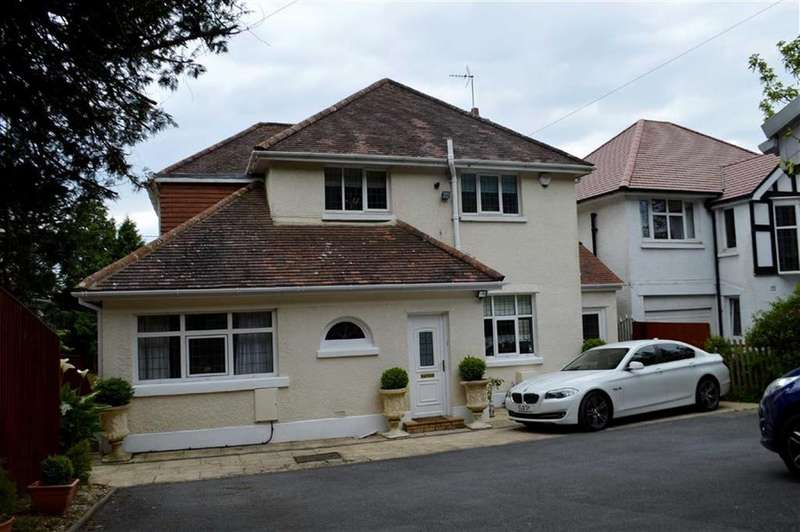 4 Bedrooms Detached House for sale in Gower Road, Swansea, SA2