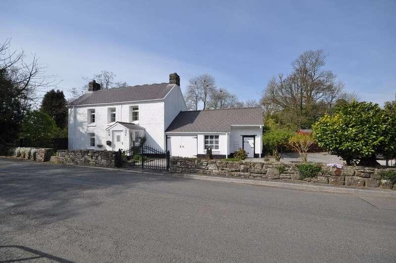 4 Bedrooms Detached House for sale in Pen Y Bont, Llanddowror, St.Clears SA33 4HL