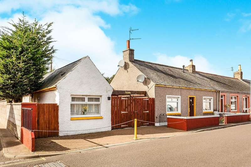 3 Bedrooms Semi Detached Bungalow for sale in Westgate, Friockheim, ARBROATH, DD11