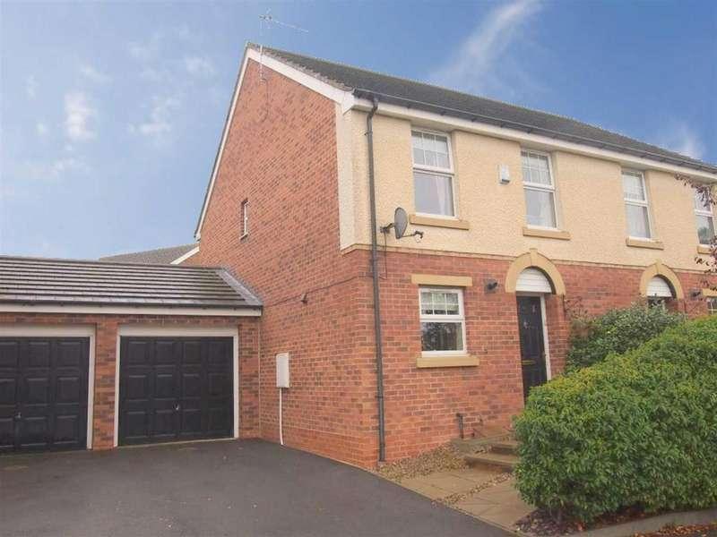 3 Bedrooms Semi Detached House for sale in Chestnut Drive, Darlington