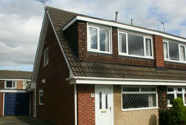 3 Bedrooms Semi Detached House for sale in Scarteen Close, Hunters Hill, Guisborough