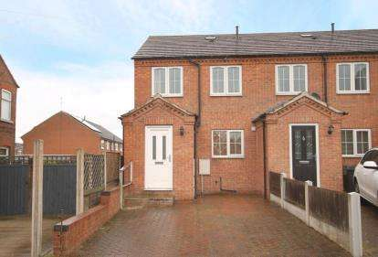 3 Bedrooms Town House for sale in John Street, Brimington, Chesterfield, Derbyshire