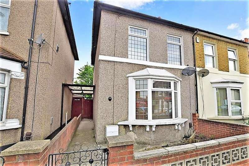 3 Bedrooms Semi Detached House for sale in Chapel Road, Bexleyheath, Kent, DA7 4HW