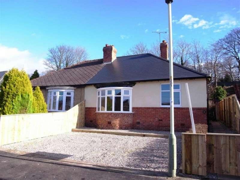 2 Bedrooms Semi Detached Bungalow for sale in Belgrave Terrace, Hurworth Village, Darlington