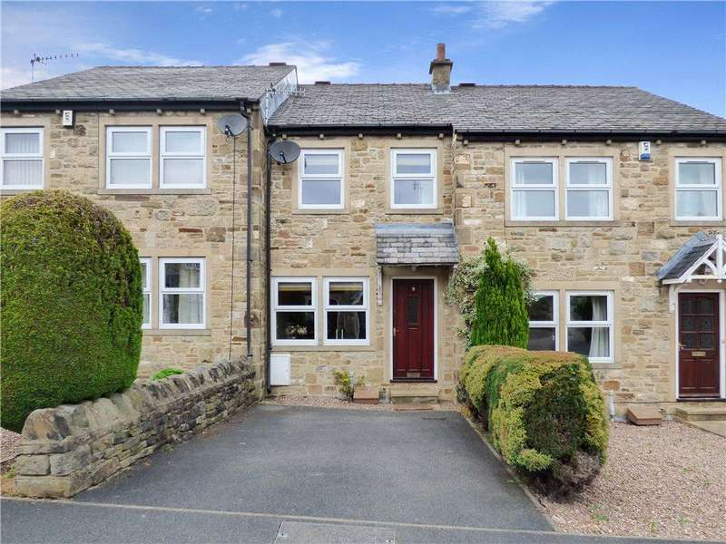 2 Bedrooms Terraced House for sale in The Fairways, Low Utley, Keighley, West Yorkshire