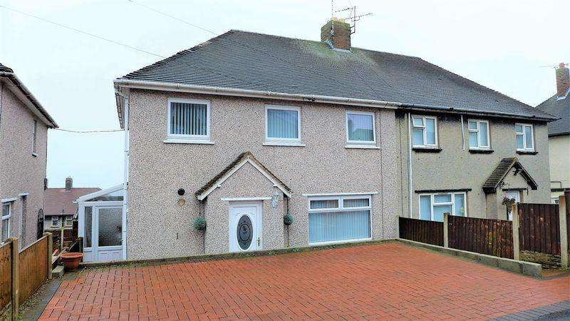 3 Bedrooms Semi Detached House for sale in Cheshire View, Wrexham