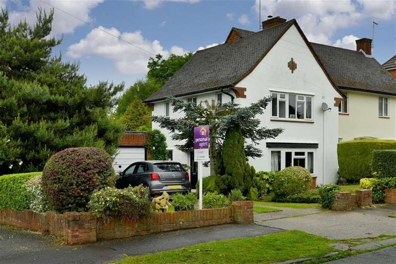 3 Bedrooms Semi Detached House for sale in Upland Way, Epsom, Surrey