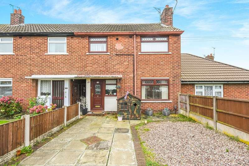 3 Bedrooms Semi Detached House for sale in Regal Crescent, Widnes, WA8