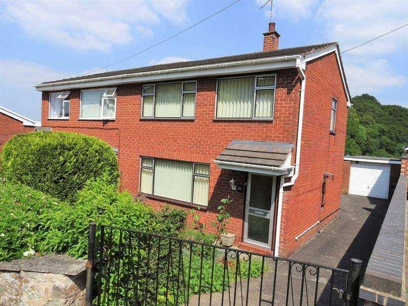 3 Bedrooms Semi Detached House for sale in Plas Yn Bwl, Caergwrle