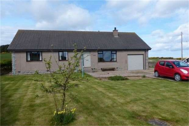 3 Bedrooms Detached Bungalow for sale in Maud, Maud, Peterhead, Aberdeenshire
