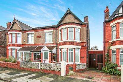 4 Bedrooms Semi Detached House for sale in Coronation Drive, Crosby, Liverpool, Merseyside, L23
