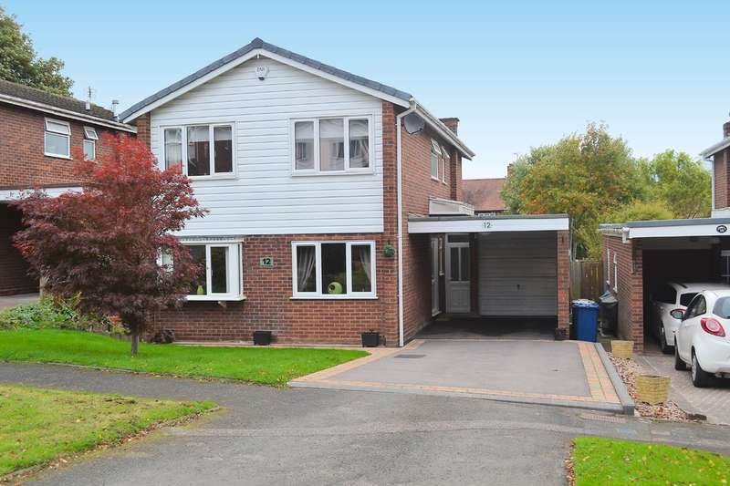 4 Bedrooms Detached House for sale in The Charters, Lichfield, WS13 7LX