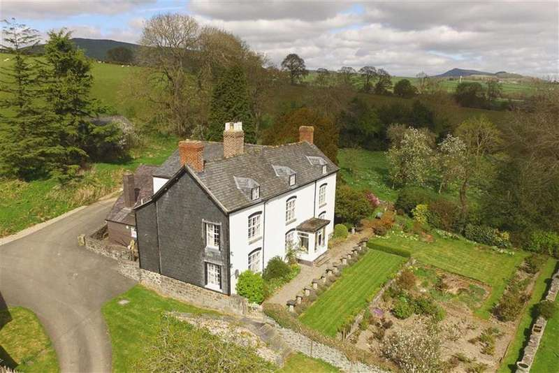 5 Bedrooms Country House Character Property for sale in Nr Llanrhaeadr, Oswestry, SY10