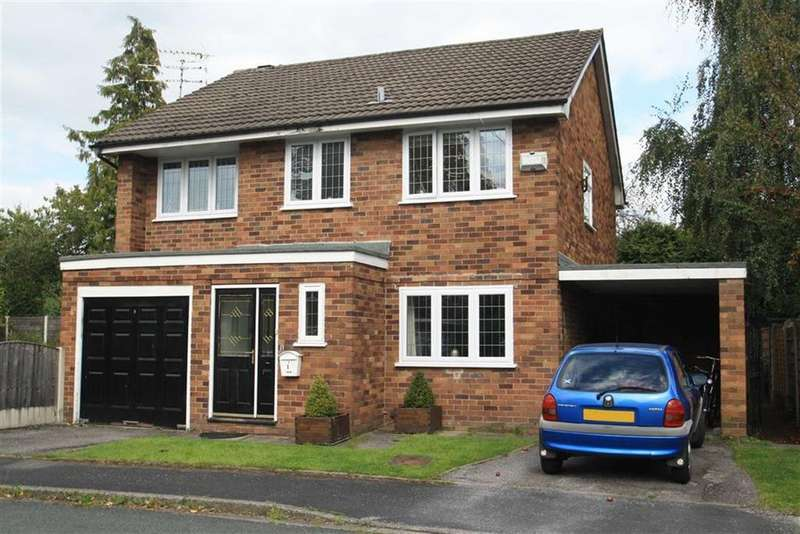 4 Bedrooms Detached House for sale in Moorfield Drive, Wilmslow