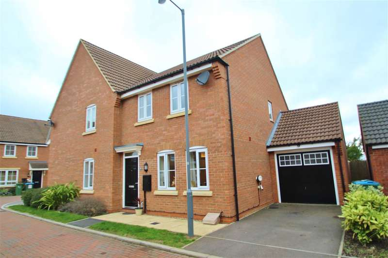 3 Bedrooms Semi Detached House for sale in Fletton End, Calvert Green