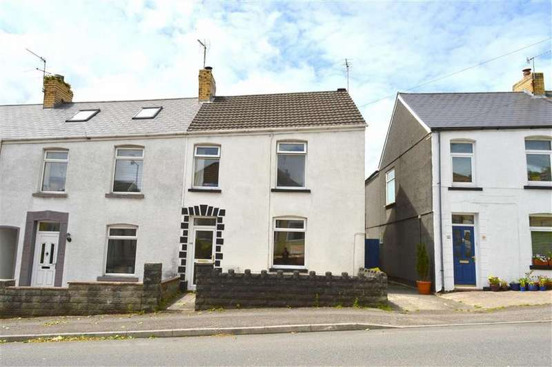 3 Bedrooms End Of Terrace House for sale in Goetre Fawr Road, Killay, Swansea