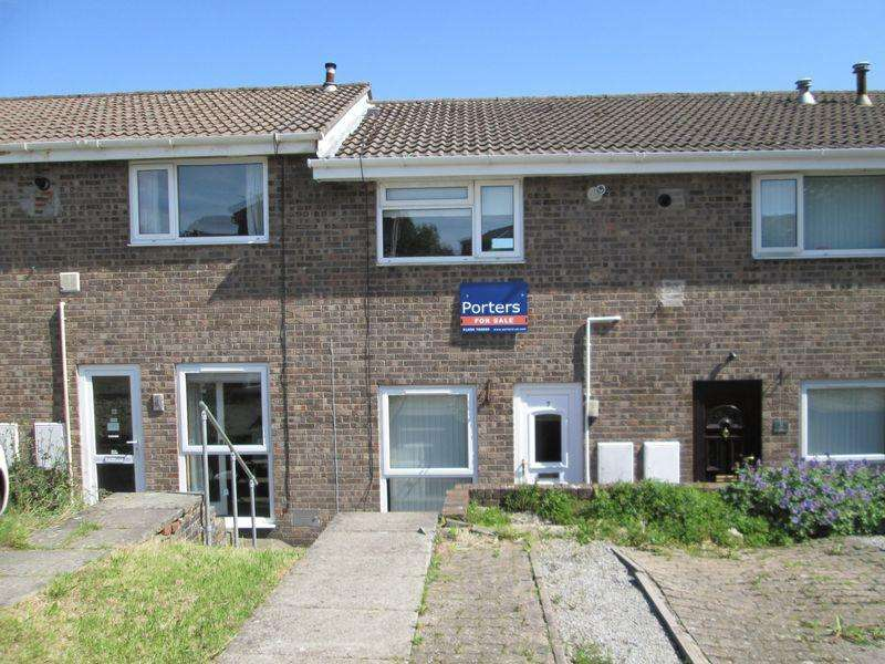 2 Bedrooms Terraced House for sale in Nant-Y-Ffynnon Brackla Bridgend CF31 2HT
