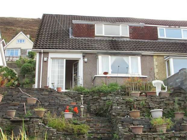 3 Bedrooms Semi Detached Bungalow for sale in Lletty Harri, Port Talbot, West Glamorgan