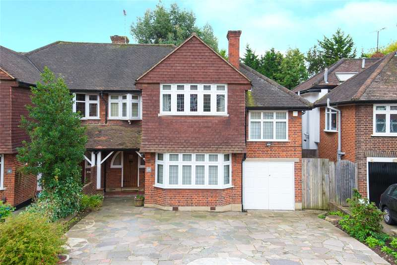 4 Bedrooms House for sale in Snaresbrook Drive, Stanmore, HA7