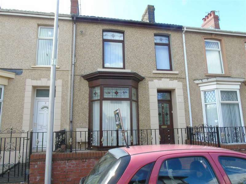 4 Bedrooms Terraced House for sale in Great Western Terrace, Llanelli