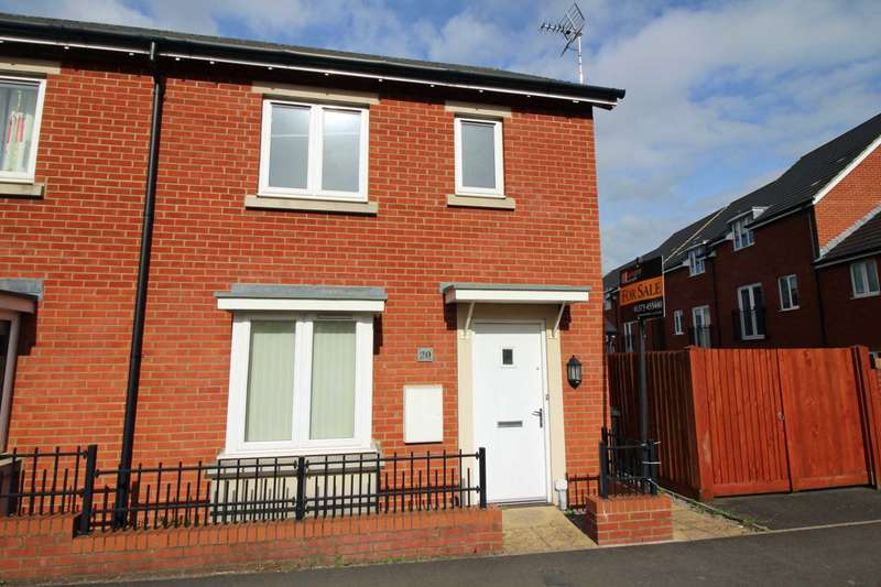 3 Bedrooms End Of Terrace House for sale in Garston Road, Frome