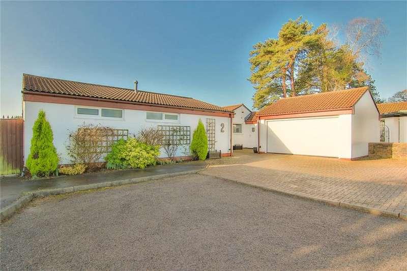 3 Bedrooms Detached Bungalow for sale in Wellfield Court, Marshfield, Cardiff, Newport, CF3