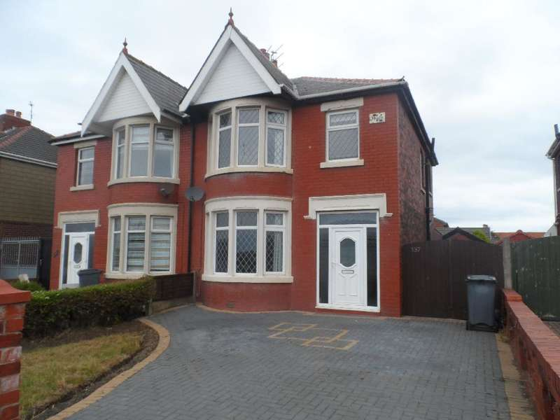 3 Bedrooms Semi Detached House for sale in Squires Gate Lane, Blackpool, FY4 2QQ