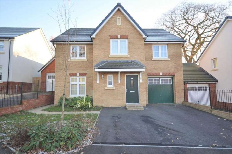 5 Bedrooms Detached House for sale in 16 Maes Lewis Morris, Llangunnor, Carmarthen SA31 2PL