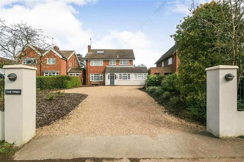 5 Bedrooms Detached House for sale in North Drive, High Cross, Ware