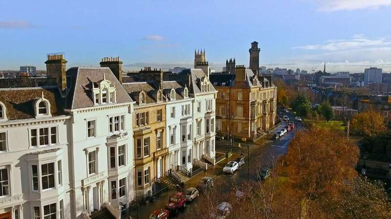 3 Bedrooms Apartment Flat for rent in Park Terrace, Flat 3, Park, Glasgow, G3 6BY